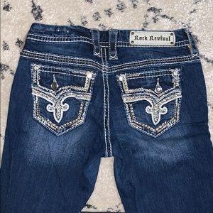 Women's size 27 rock revival skinny jeans